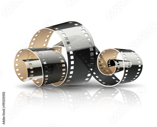 zakrecona-tasma-filmowa-do-filmow-kinematograficznych-lub-fotografii