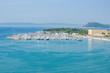 Adriatic Sea and Port of Split in Croatia