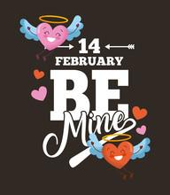 14 February Be Mine Card Love ...