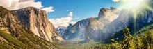 Panorama Yosemite National Par...