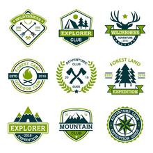 Adventure Explorer Logo Collec...