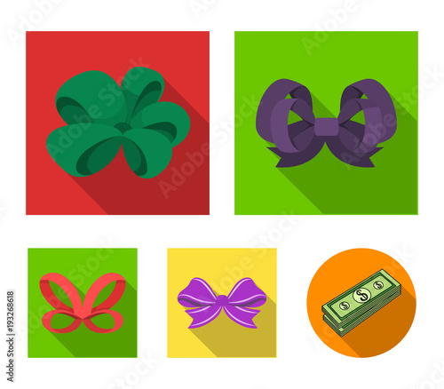 Ornamentals, frippery, finery and other web icon in flat style Slika na platnu