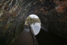 Inside The Chirk Canal Tunnel ...