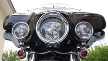 Motorcycle Headlight. Motorbik...