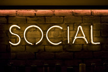 Social Sign In Neon Yellow Lig...