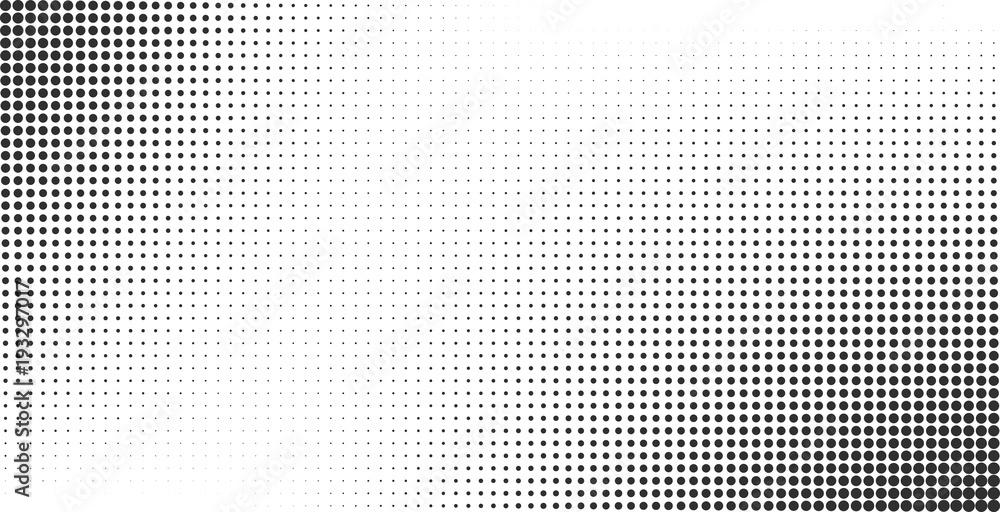 Fototapeta Halftone effect vector background