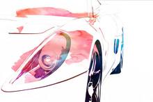 Cars Digital Art