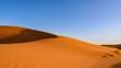 Sahara Desert, Erg Chebi dunes. Merzouga, Morocco
