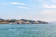 cityscape and sea