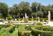 Gardens At Villa Borghese In R...