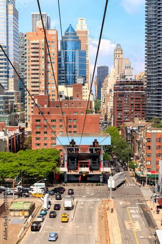 Fotografía  Midtown Manhattan, NYC - Roosevelt Island Tram