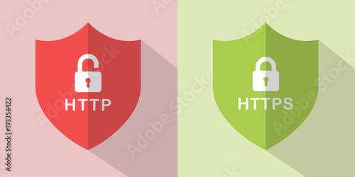 Fotografia  HTTP Secure Icons