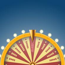 Part Gold Wheel Of Fortune Des...