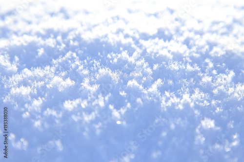 Valokuva  Fresh snow texture background