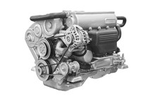 The Image Of An Engine Under T...
