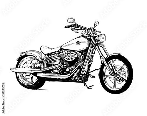 motorcycle bike motorbike motor Slika na platnu
