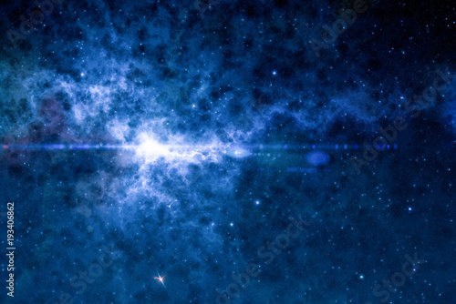 Foto op Aluminium Heelal High definition star field, colorful night sky space. Nebula and galaxies in space. Astronomy concept background.