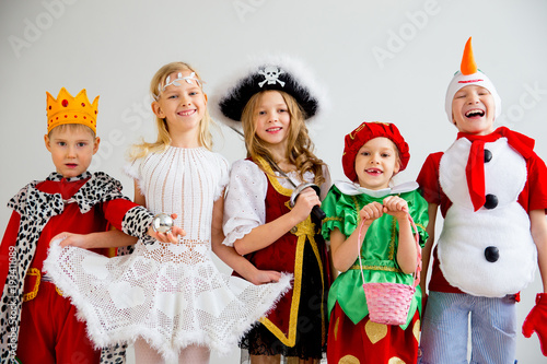 Cuadros en Lienzo Kids costume party