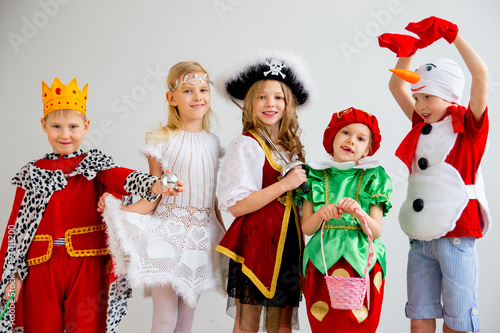 Kids costume party Fototapeta