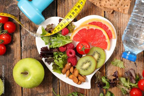 Fototapeta healthy food concept obraz na płótnie