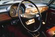 Dashboard of retro car