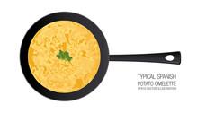 Typical Spanish Potato Omelett...