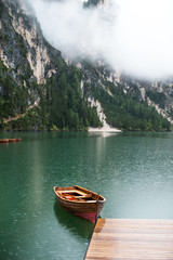 Fototapetaboat in the lake