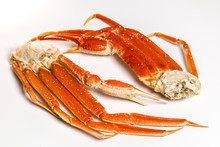 Claw Of A Snow Crab On A White...