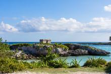 Landscape Of Mayan Ruins In Ri...