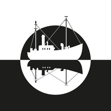 Fishing Vessel Icon