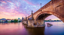The Charles Bridge Of Prague