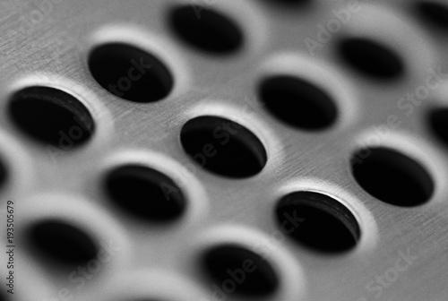 Foto op Plexiglas Kikker Circular vent cover