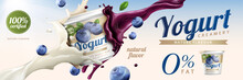 Blueberry Yogurt Ads