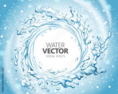 Fotografía  Water special effect
