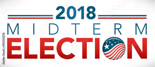 Election header banner with Vote