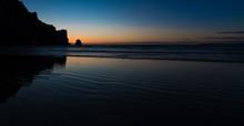 Morro Rock Beach Sunset