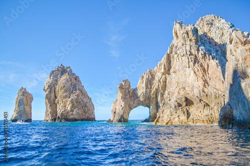 Photo  The arch of Cabo San Lucas at Baja California, Mexico