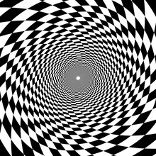 Psychedelic Tunnel, Chessboard...