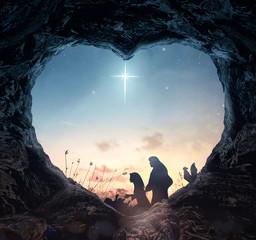 Christmas religious nativit...