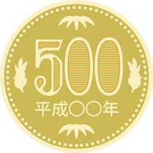 500 Yen Coin.eps