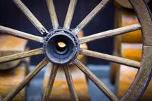 Old Wooden Wheel