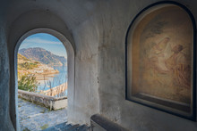 View Of Amalfi With Particular Religious