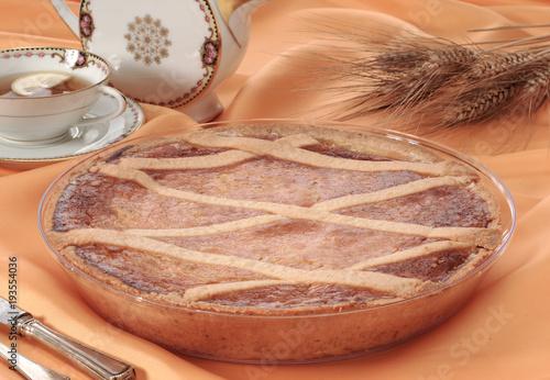 Fototapeta  Torta tipica italiana, pastiera napoletana