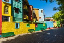 Colorful Area In La Boca Neigh...