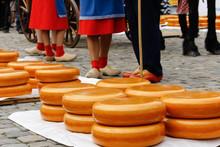Gouda, Holland Old Cheese Market.