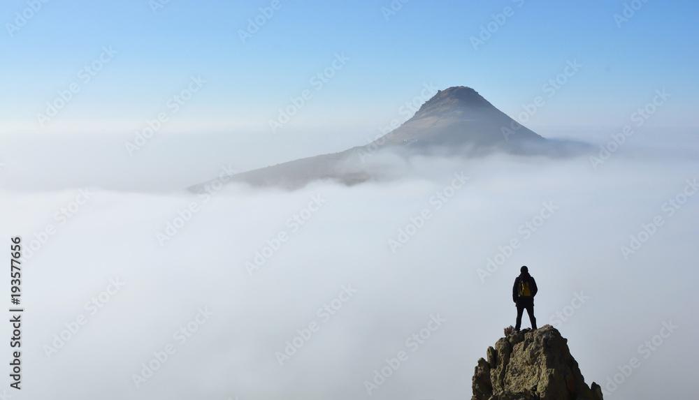 Fototapety, obrazy: Bulutlar üzerinde hayal