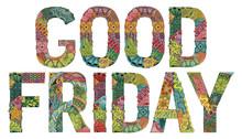 Good Friday. Vector Decorative...