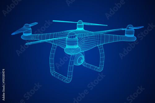 Photo Remote control air drone