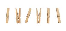 Set Of Decorative Clothespins