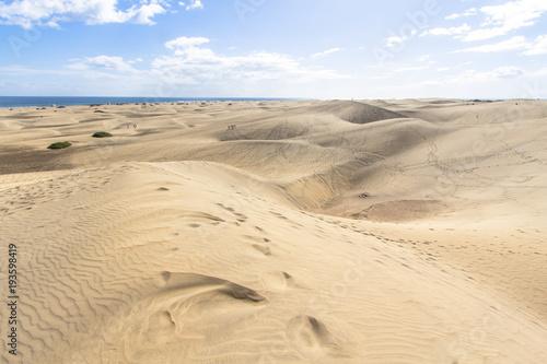 Keuken foto achterwand Droogte Maspalomas Sand Dune Desert, Grand Canaria